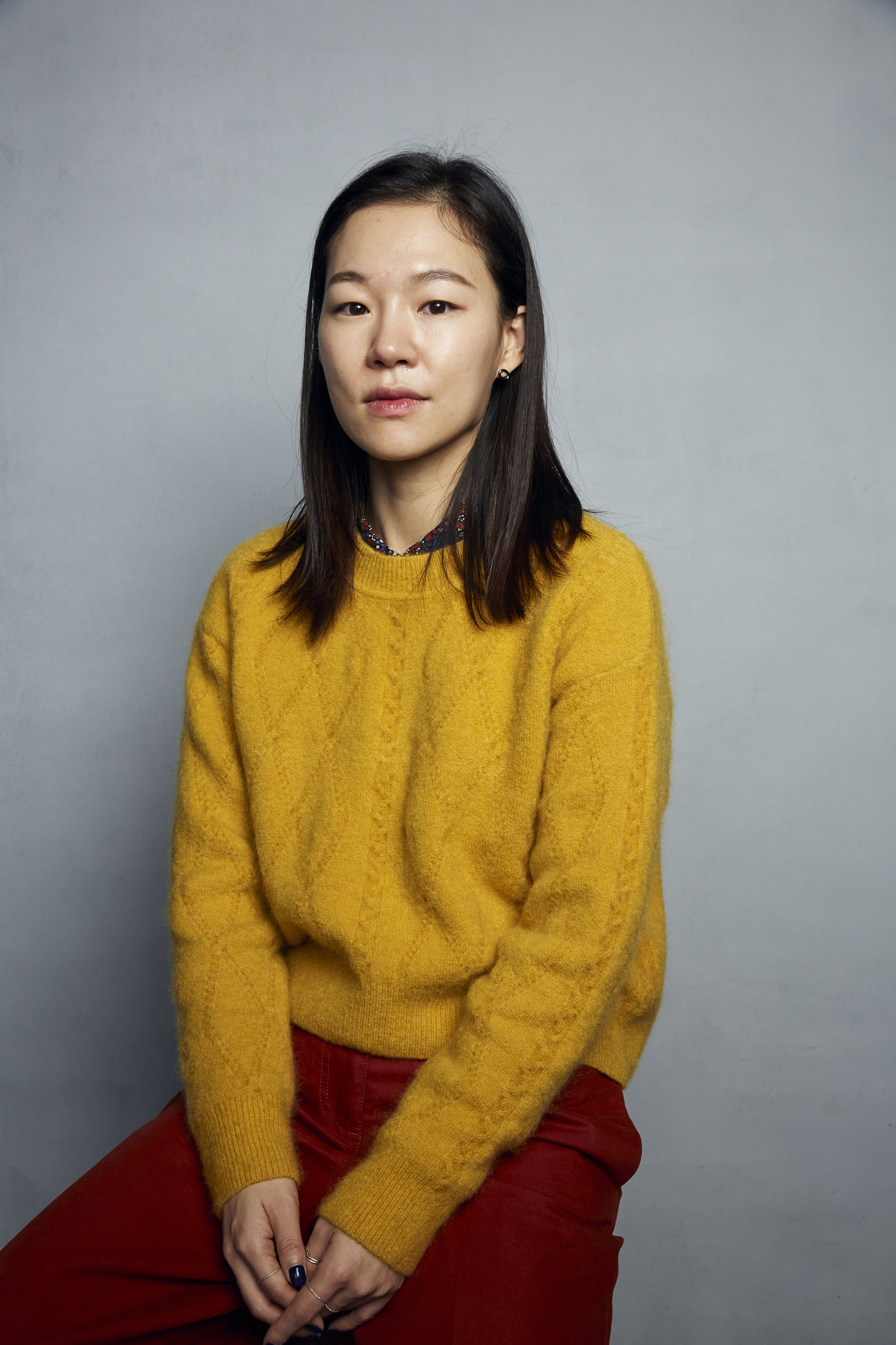 """Han Yeri poses for a portrait to promote the film """"Minari"""" at the Music Lodge during the Sundance Film Festival on Monday, Jan. 27, 2020, in Park City, Utah. (Photo by Taylor Jewell/Invision/AP)"""