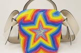 One of the handbags from the Acne Studios X Ben Quinn collaboration.