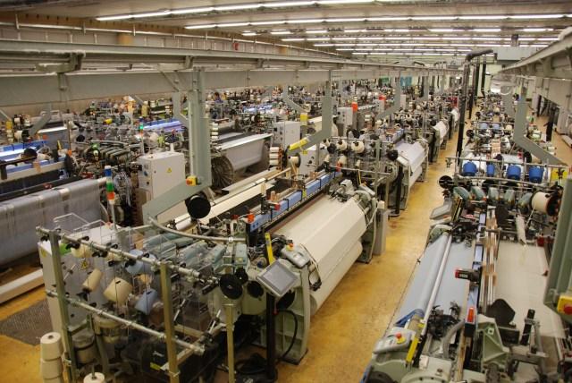 کارخانه تولید گروه آلبینی.