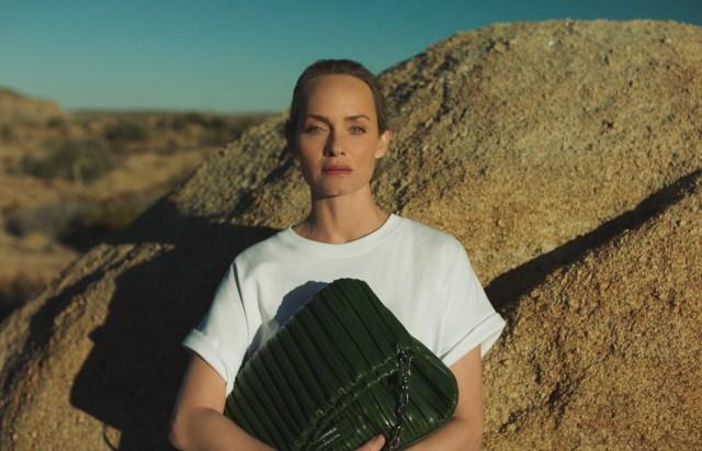 Amber Valletta x Karl Lagerfeld