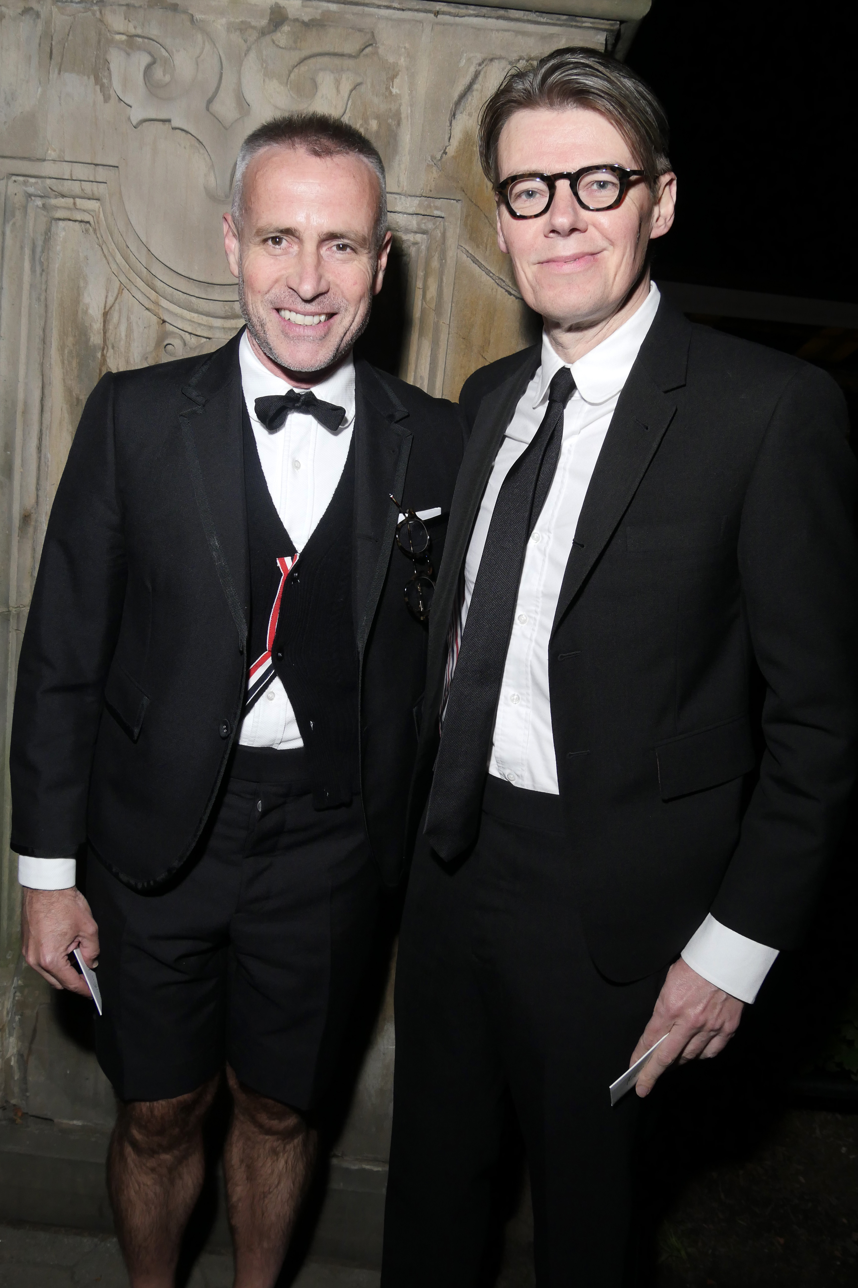 Thom Browne and Andrew Bolton