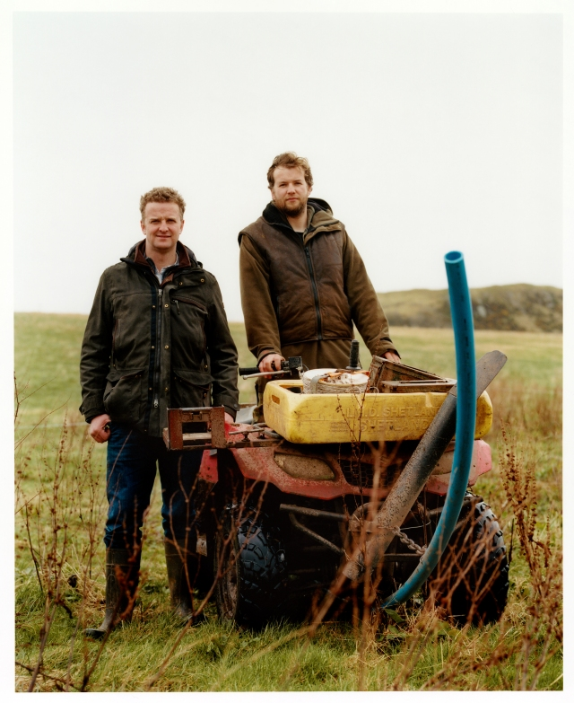 Andrew and Robert Brewster for Mulberry's Made to Last campaign