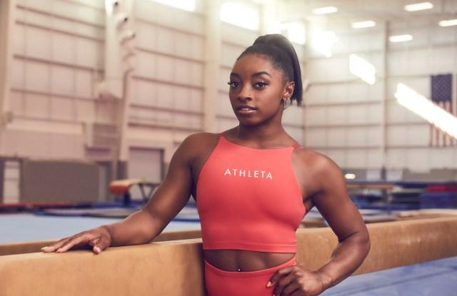 Athleta x Simone Biles
