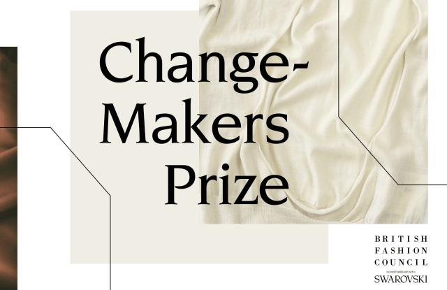 BFC Changemakers Prize with Swarovski visual