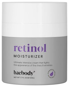 Baebody Retinol Moisturizer Cream, best vitamin a creams
