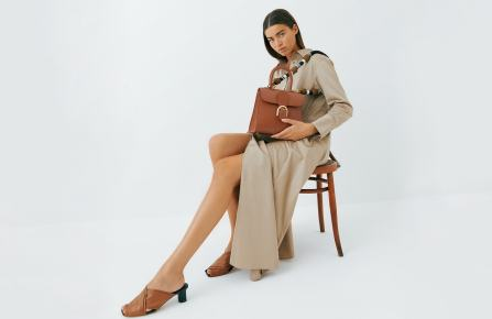 """Delvaux spring 2021 collection campaign """"Bucolic Landscapes"""""""
