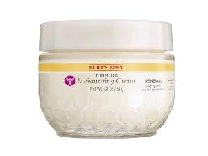 Meilleures crèmes anti-âge naturelles, crème hydratante raffermissante Burt's Bees Renewal
