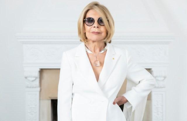 Australian fashion designer Carla Zampatti.