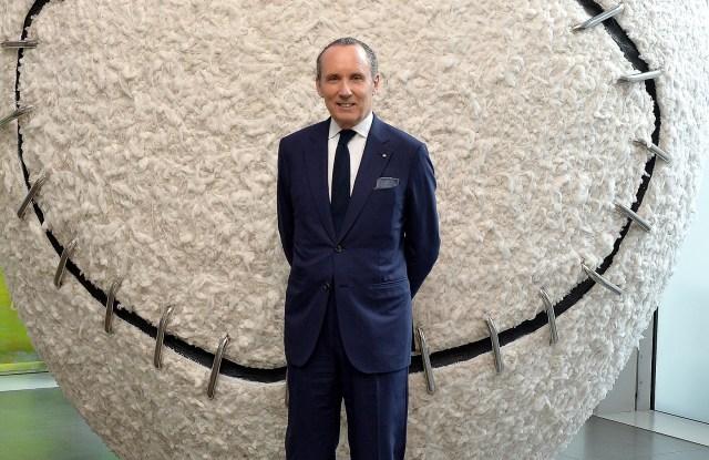 Ermenegildo Zegna CEO Gildo Zegna