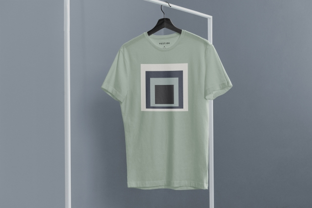 A customizable Albers T-shirt from Vestige.