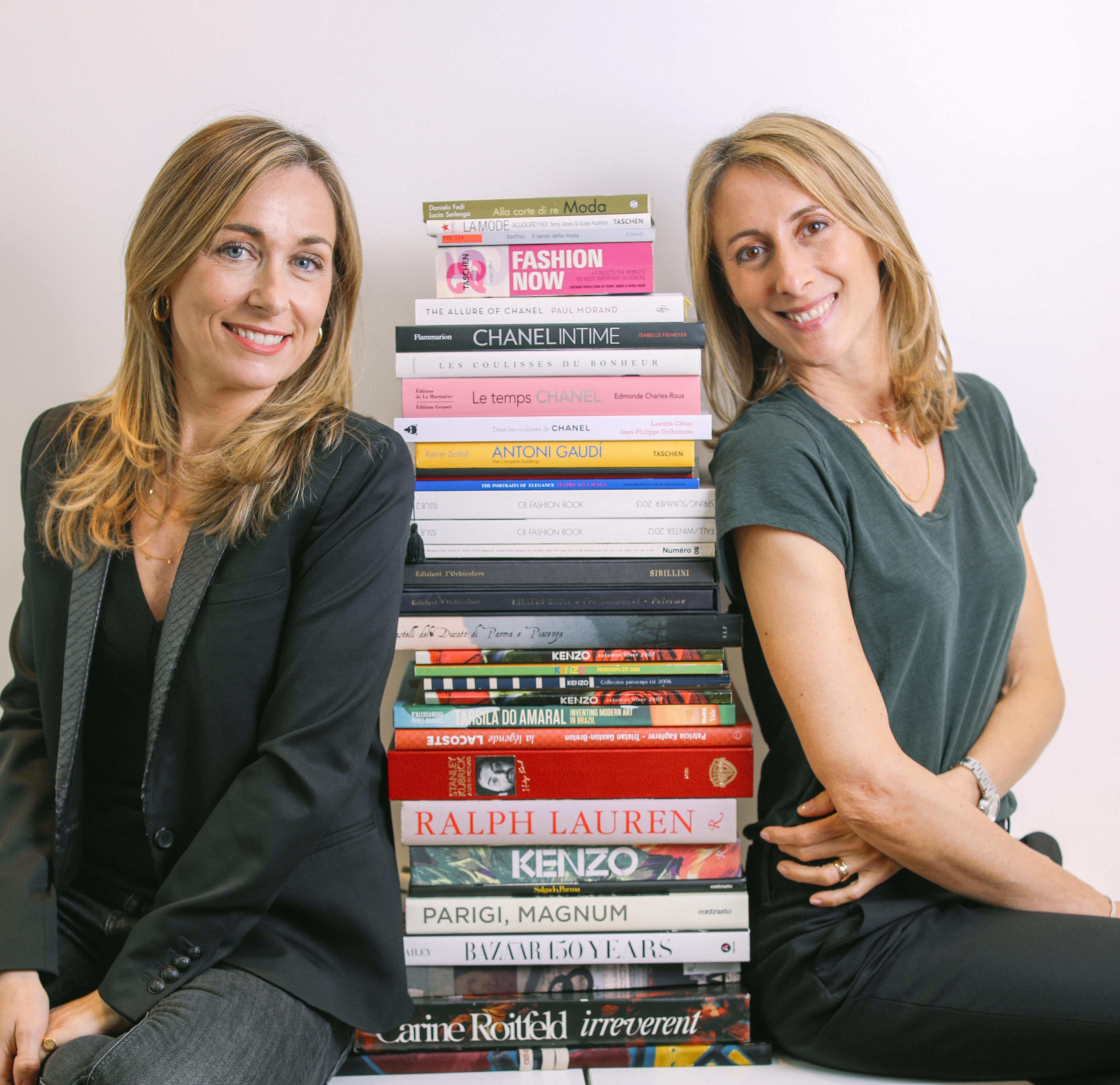 Elisabetta Pollastri and Camilla Guimard