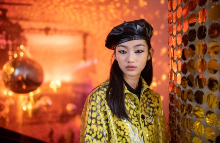 Backstage at the Dior Pre-Fall 2021 Show in Shanghai