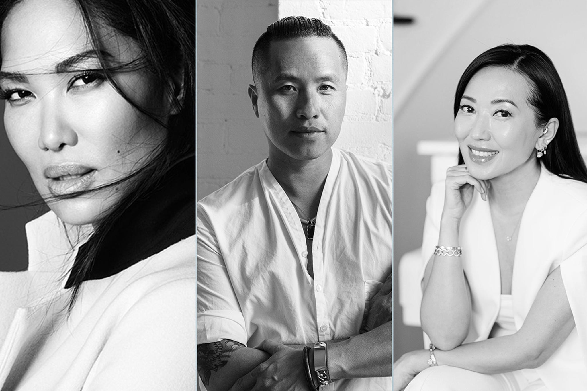 Kimora Lee Sumons, Phillip Lim and Tina Craig