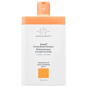 Drunk Elephant Kamili Cream Body Cleanser, best unscented body wash
