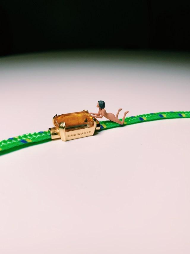 "Eroina999 ""Love Boat"" necklace"