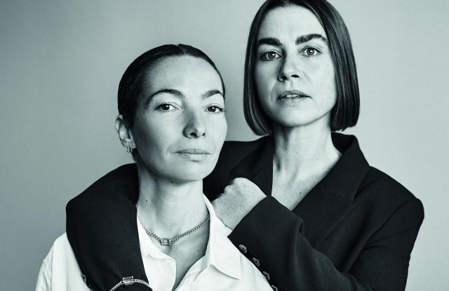 Eroina999 founders Margherita Picardi and Gaia Venuti.