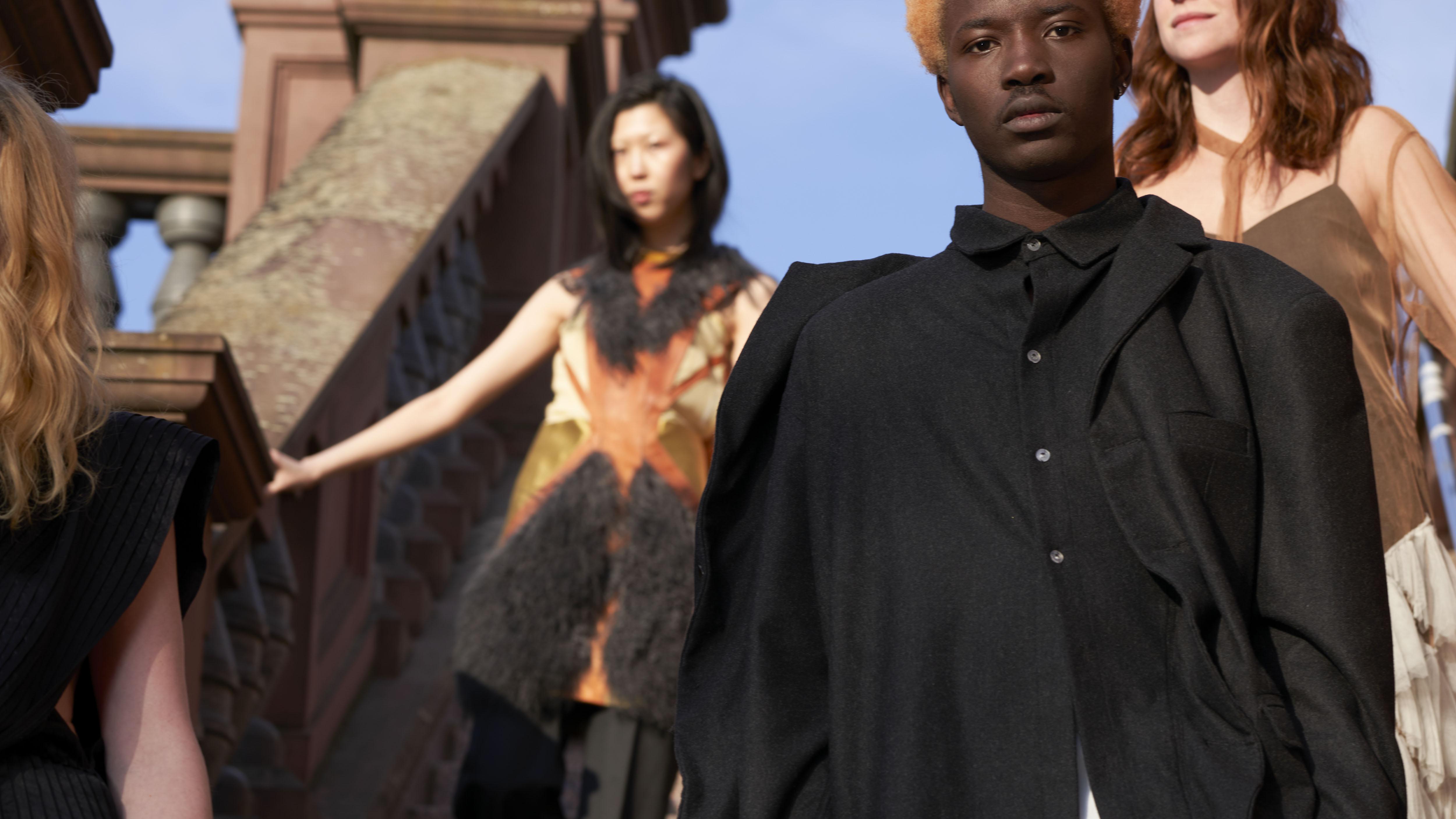 An image from Frankfurt Fashion Week's new brand identity.