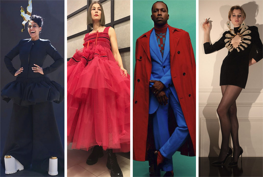 Best Dressed of the Virtual Awards Season