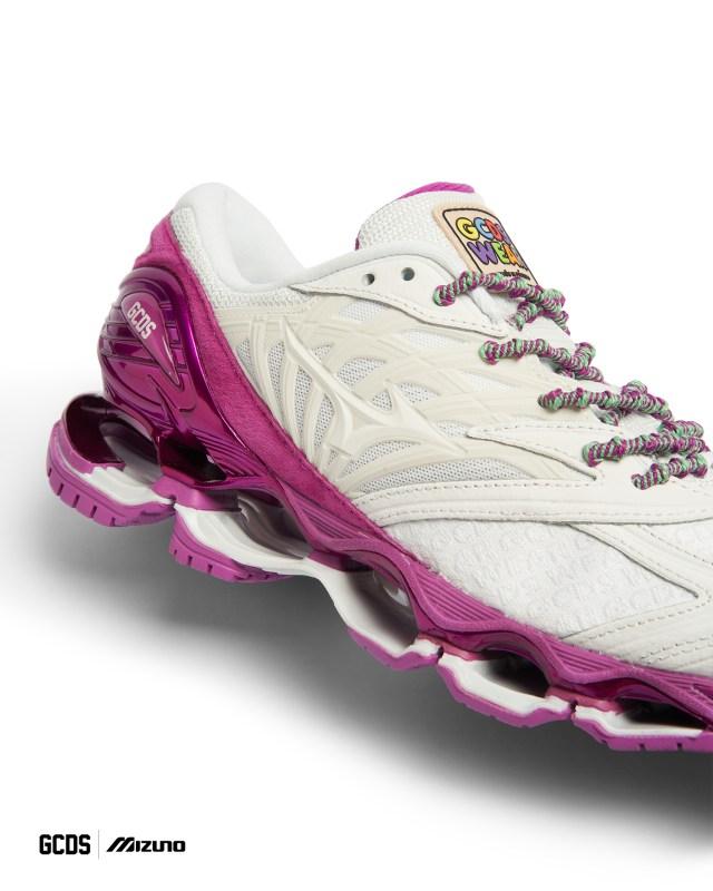 GCDS Mizuno sneakers wave prophecy