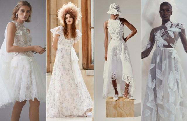 Bridal Trend: Oscar de la Renta, Temperley, YolanCris and Mira Zwillinger