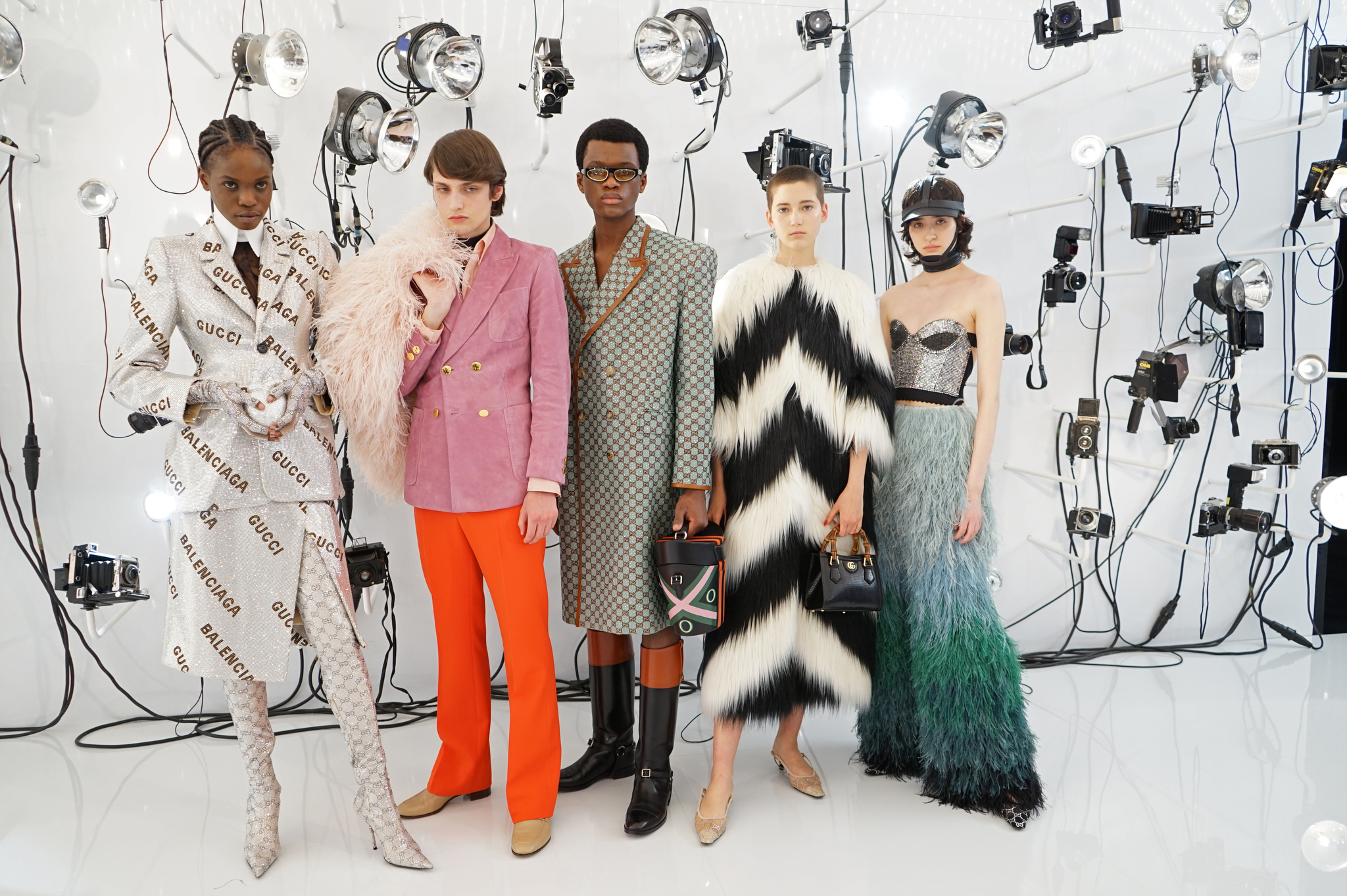 Behind the scene of the gucci Aria collection film