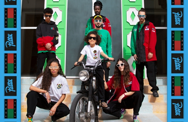 Some looks from the Tommy x Patta capsule.