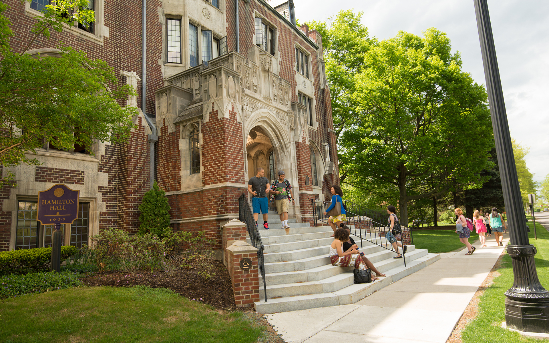 Elmira College's Hamilton Hall.