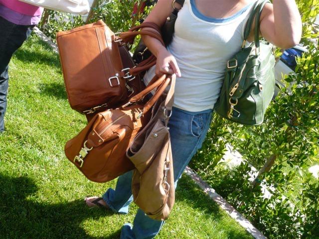 Some Rebecca Minkoff bags.