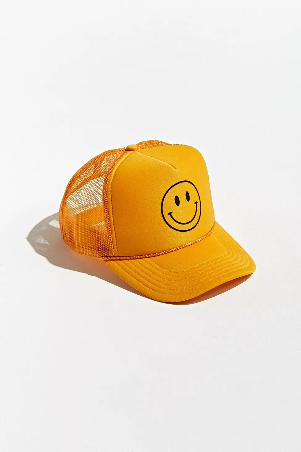 Urban Outfitter's smile trucker hat