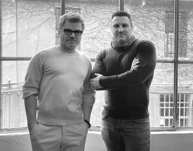 Câllas co-founders Jan Schlottmann and Marco Panzeri