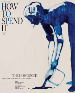 Jonathan Anderson guest edits the Financial Times' How to Spend It magazine,