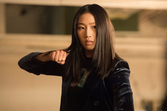 "Olivia Liang in ""Kung Fu."""
