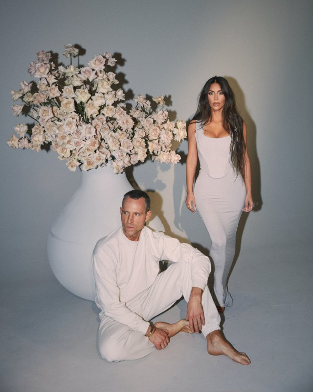 Kim Kardashian West Jeff Leatham