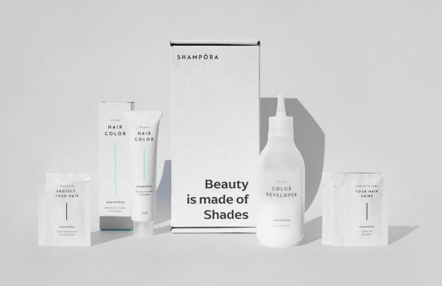 Shampora's new hair coloring kit.