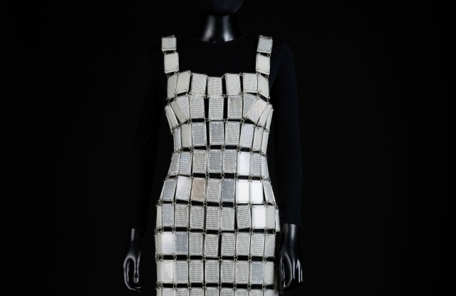 A Paco Rabanne dress from spring 1982.