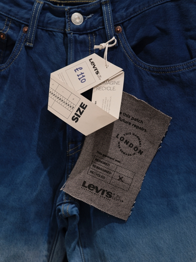 levi strauss jeans tag
