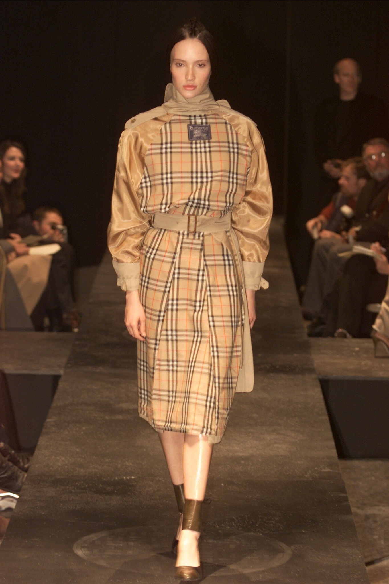 Miguel Adrover was sued by Burberry after reimagining its designs in 2000.