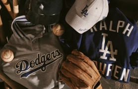 The L.A. Dodgers collection from Ralph Lauren.