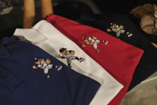 پیراهن های خرس پولو از مجموعه بیس بال رالف لورن.