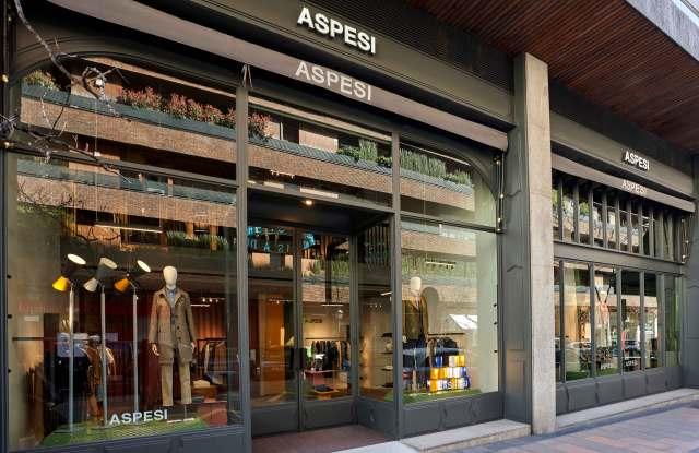 Aspesi new store in Madrid