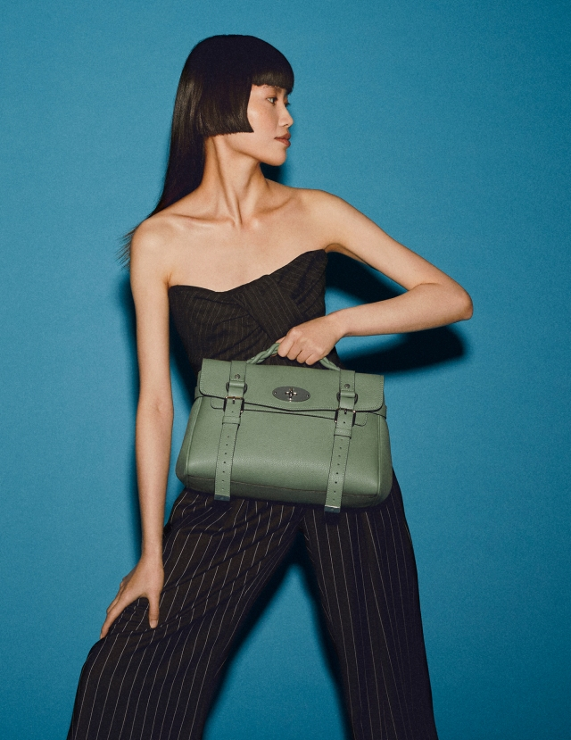 A Mulberry campaign image