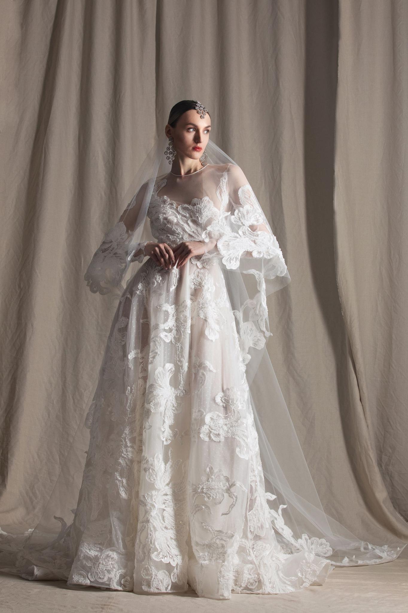 Naeem Khan Bridal Spring 2022