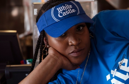 The White Castle 100th anniversary collection designed by Telfar.