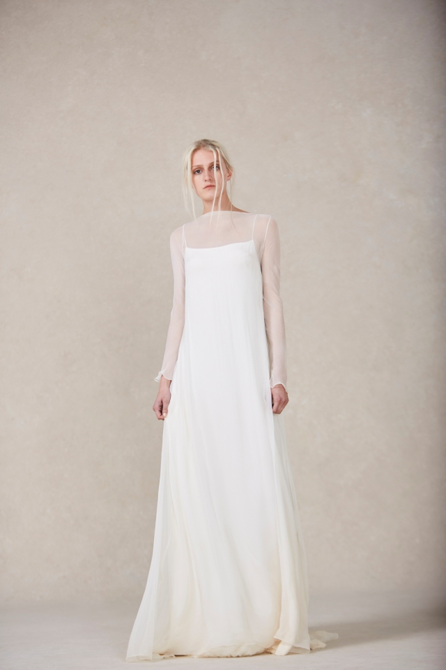 A look from Nordeen Bridal Spring 2022