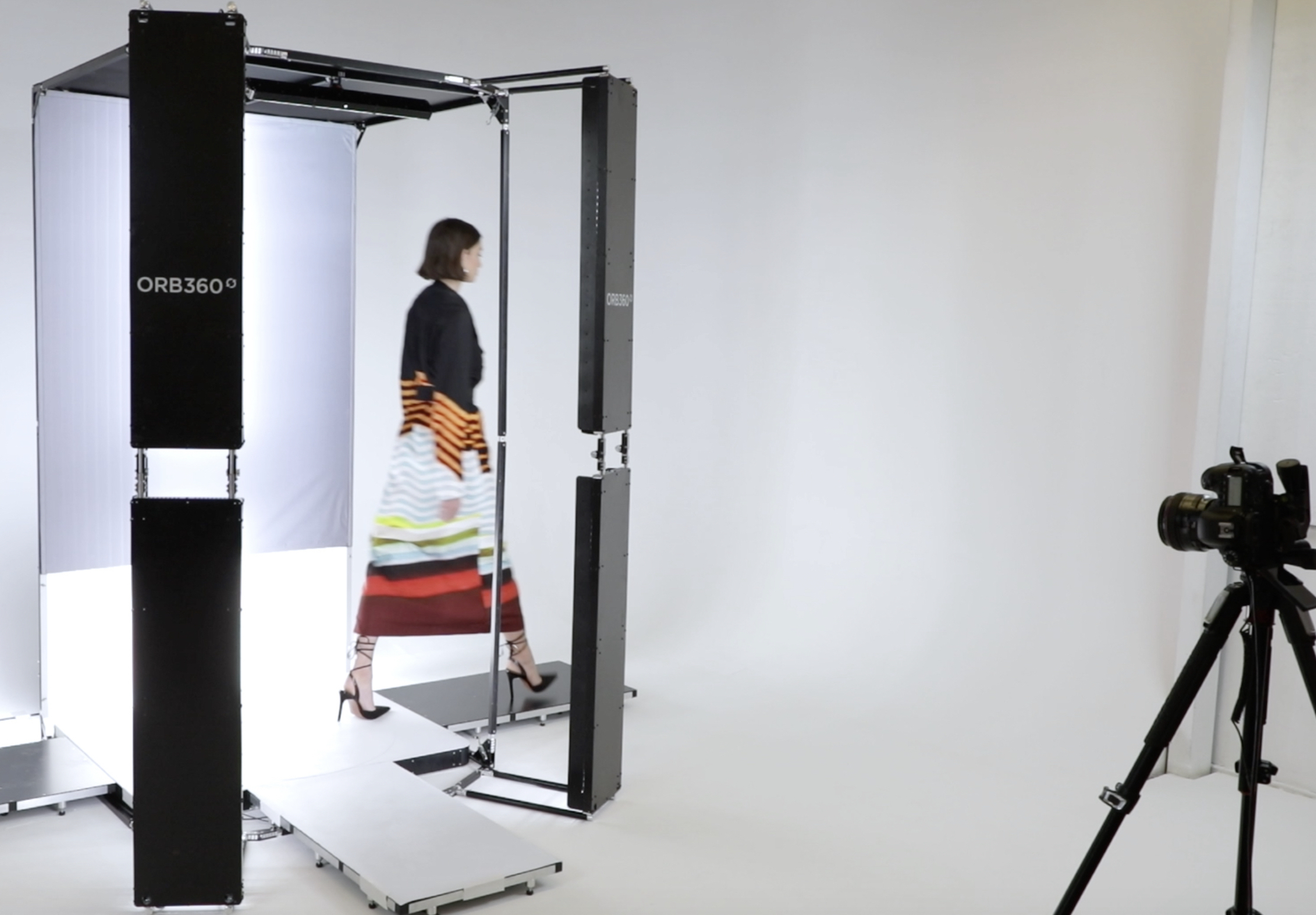 Ordre's new Orb360º Video technology, which will be used by designers in their virtual showrooms at the upcoming Afterpay Australian Fashion Week in Sydney.