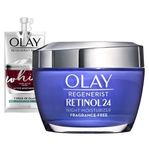 Olay Regenerist Retinol 24 Night Moisturizer, best vitamin a creams