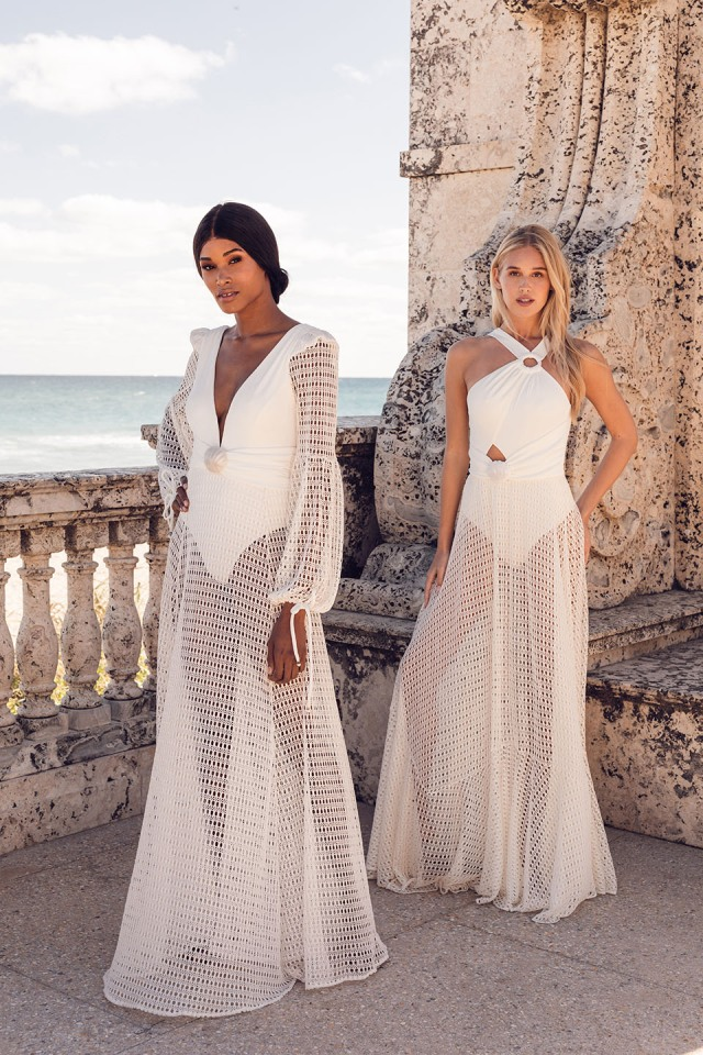 Looks from PatBO Bridal Spring 2022