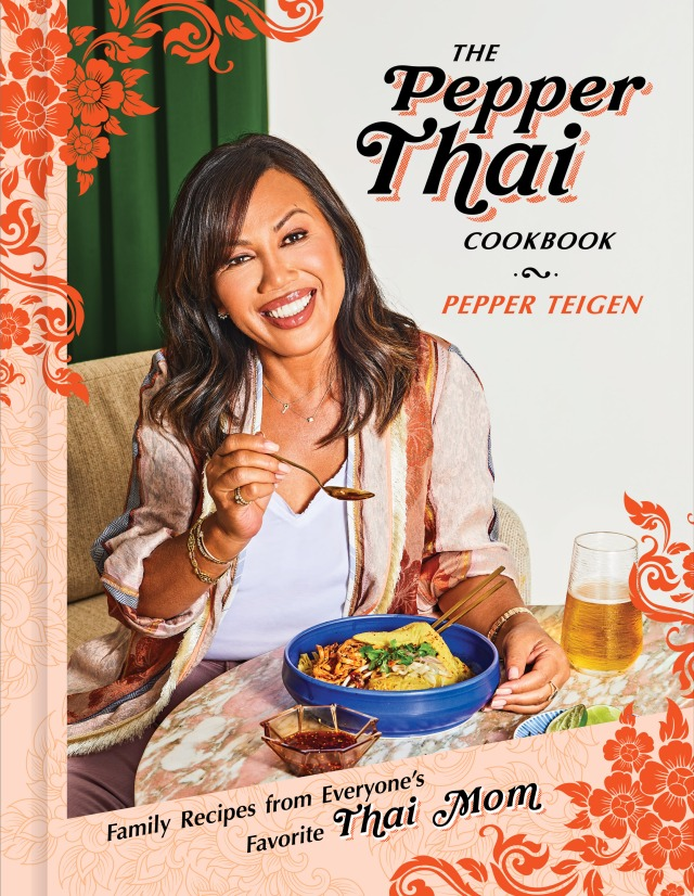 """The Pepper Thai Cookbook"" cover"