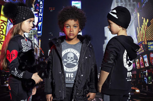 Philipp Plein children's wear collection.
