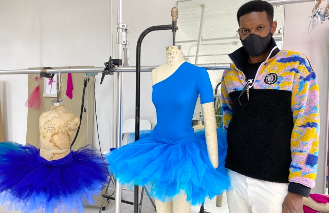 """Victor Glemaud has designed costumes for the American Ballet Theatre's """"La Follia Variations."""""""